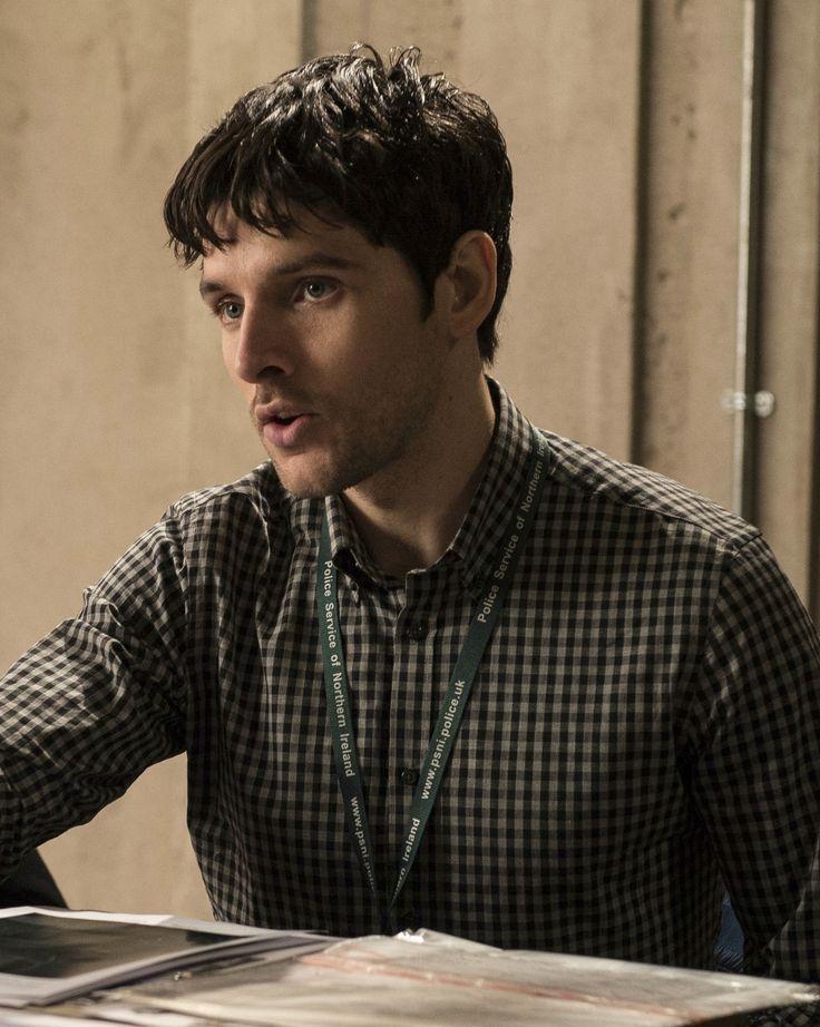 Colin Morgan as DS Tom Anderson. Cr:far far awaysite