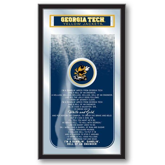 Georgia Tech Yellow Jackets Fight Song Mirror at SportsFansPlus.com. Visit website for Bonus Coupon!