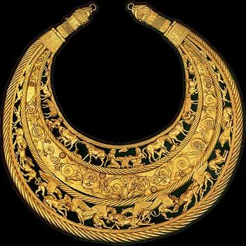 Scythian Gold Pectoral.  On this page is a lot of information about the Scyths.