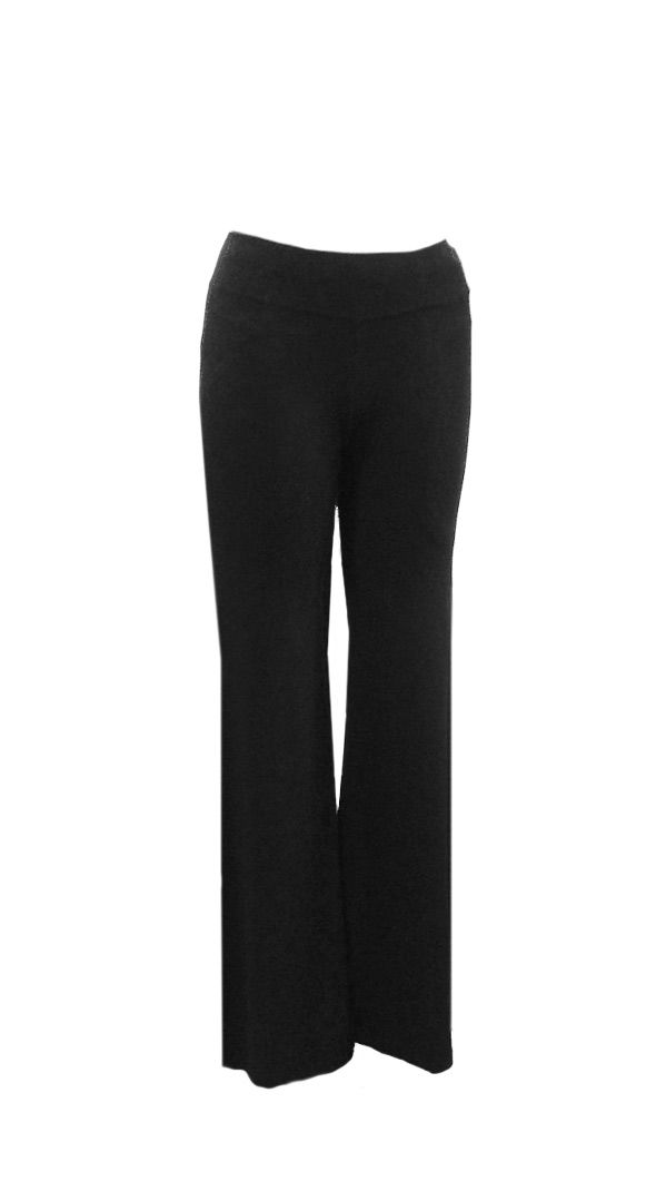 Basic Black : Black Knit Trousers | Philosophy clothing - designer clothing for women on the move