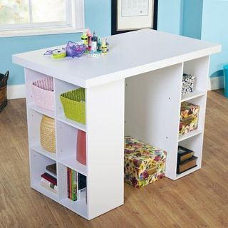 Simple Living Counter Height Craft Table - 15533684 - Overstock.com Shopping - Great Deals on Simple Living Desks