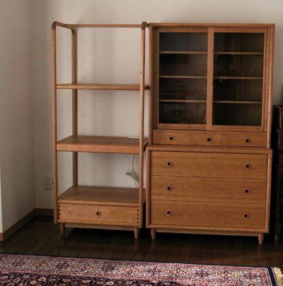 食器棚、レンジ台  cabinet