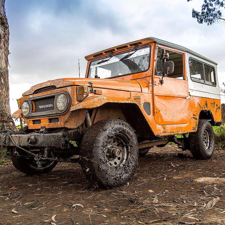 Toyota Of Orange >> Off road test before restoration 1974 Toyota Land Cruiser FJ43 Orange #fjco1974orange #fjcompany ...