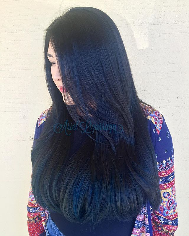 Best 25 midnight blue hair ideas on pinterest dark blue hair 25 midnight blue hair ideas that will inspire your next moody look pmusecretfo Images