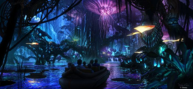 Here's an early glimpse of the plans for AVATAR coming to Disney's Animal Kingdom at the Walt Disney World Resort!