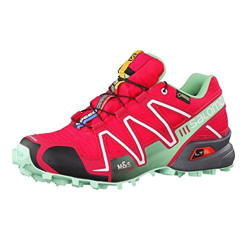 new concept 09930 35473 ... Salomon Speedcross 3 GTX Womens Trail Running Shoes UK 9.5 Lotus Pink  Lucite Green Black Salomon Free delivery - Christmas ...