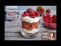 Tiramisu aux fruits rouges & Spéculoos - Recettes by Hanane