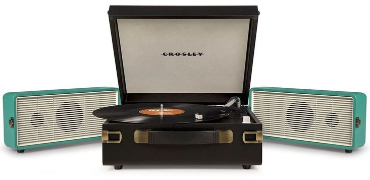 Crosley CR6230A-TU Snap USB Portable Turntable Record Player - TURQUOISE NEW #Crosley