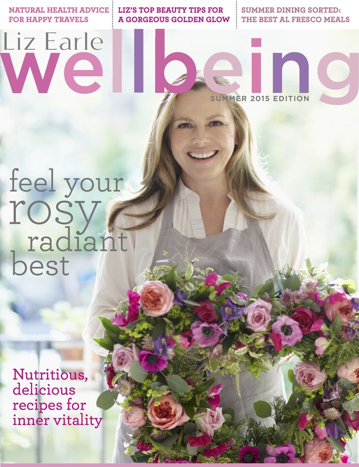 Liz Earle Wellbeing magazine summer edition