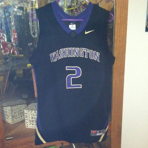 UW men's basketball jersey A couple seasons old but still in brand new condition. Only worn a couple times! Just been taking up space in my closet, ready to get rid of it! Make a reasonable offer! Nike Other