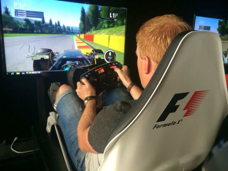 F1 Gamezone at Spa-Francorchamps! Mini 8 player race to win a run in the motion simulator.. Won the race! #F1 #F1Gamezone #BelgianGP #Playseat #CanYouBeatTheBest #Simulator #Simracing