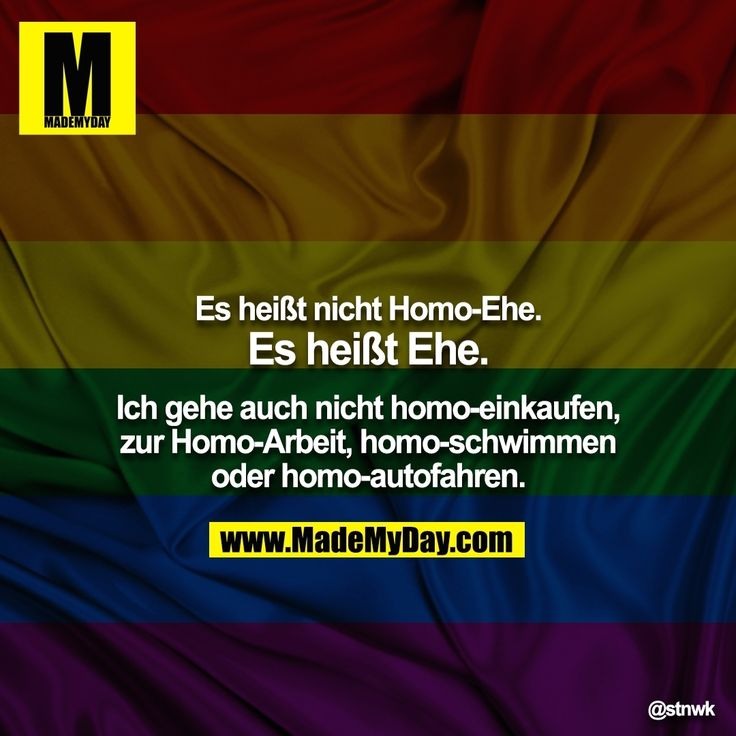 Vollkommen korrekt! So eine abwertende Bezeichnung würde mich auch mächtig ärgern! Da hat man die Ausgrenzung und Diskriminierung schon inklusive! Gleiches Recht für ALLE!!! Scheiß egal ob hetero-, bi- oder homosexuell!