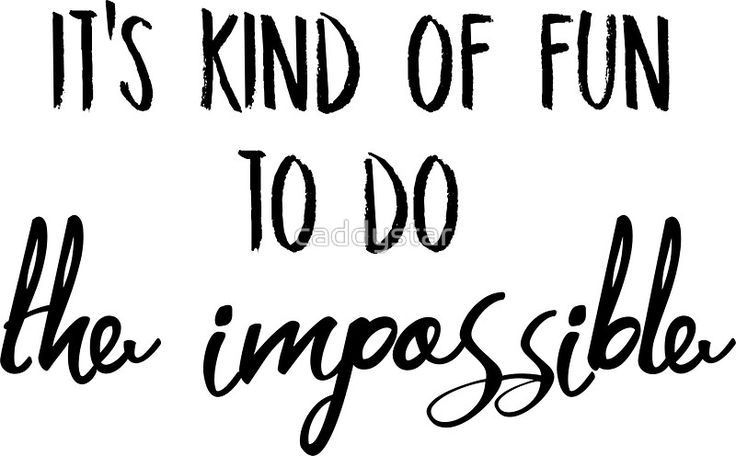It's kind of fun to do the impossible typography, words, English, bold, handwriting, handwritten