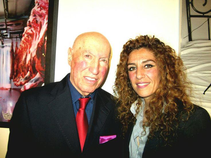 Con Mario Bernardinello