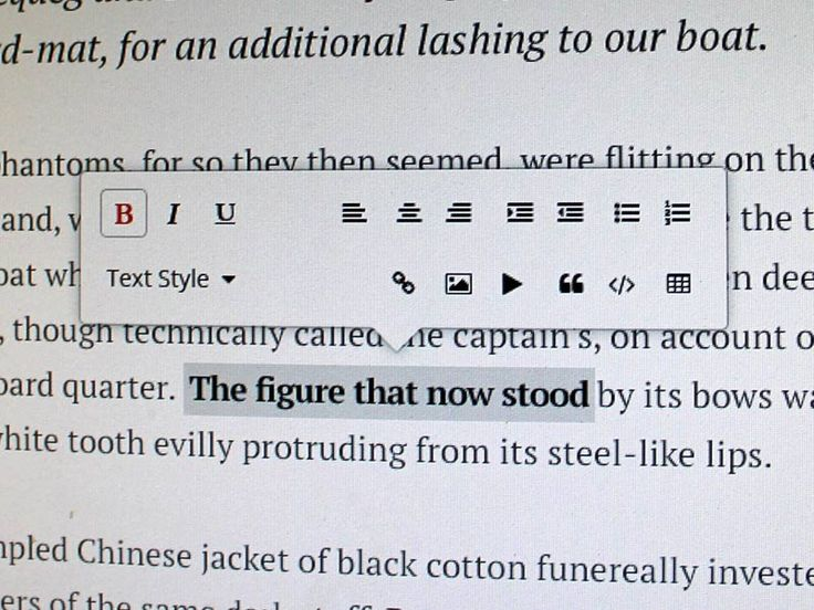 Ink: Wordpress Rich Text Editor Redesign Kyril Ku