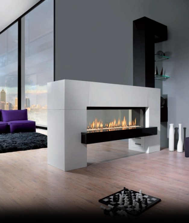 If that isn't a hot fireplace, what is? Love this!
