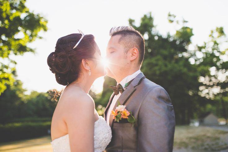 Wedding Shoot / Scotsdale Farm / Wedding Photography / Toronto Photographer / Sunset / www.wilsonhophotography.com