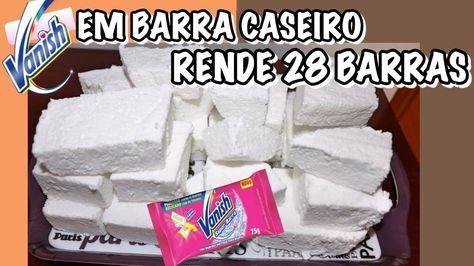 Aprenda a fazer o SABÃO VANISH CASEIRO CLAREADOR DE ROUPAS EM BARRA E SEM SODA, confira o passo a passo e tire todas as manchas de suas roupas.