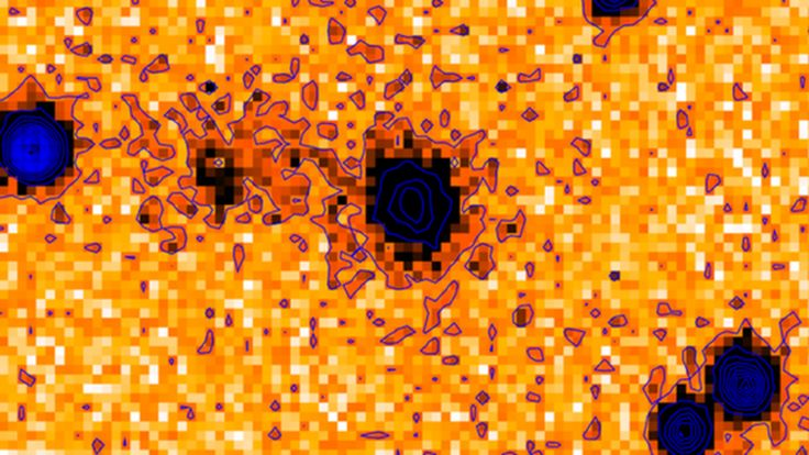 Astronomers pinpoint the source of an explosive 'fast radio burst' for the very first time, and use it to measure the density of the cosmos.