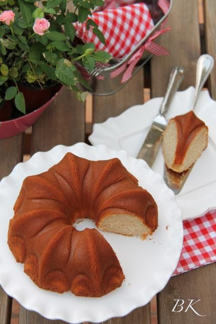 Bundt Cake de Natillas