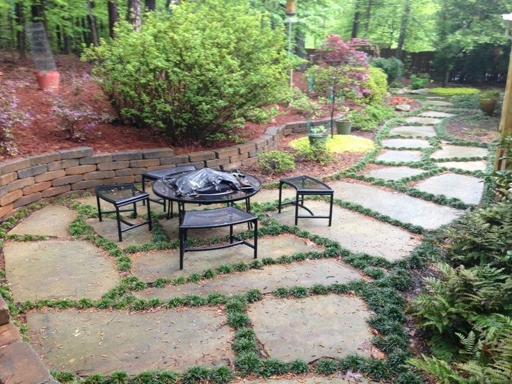 Pin by rachael rezek on patio ideas pinterest stone for Terrace ideas pinterest