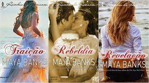 Românticos e Eróticos Book: Maya Banks - Irmãos Anetakis #1 a #3