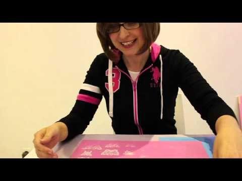 Tutoriels et Astuces pâte à sucre: Dentelle comestible / Edible lace - YouTube