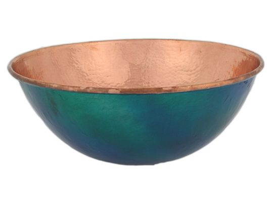 a copper sink may be just the touch of warmth and you need to set your bathroom or kitchen apart from the rest