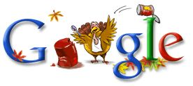 Thanksgiving Day Google (Nov 27, 2003)
