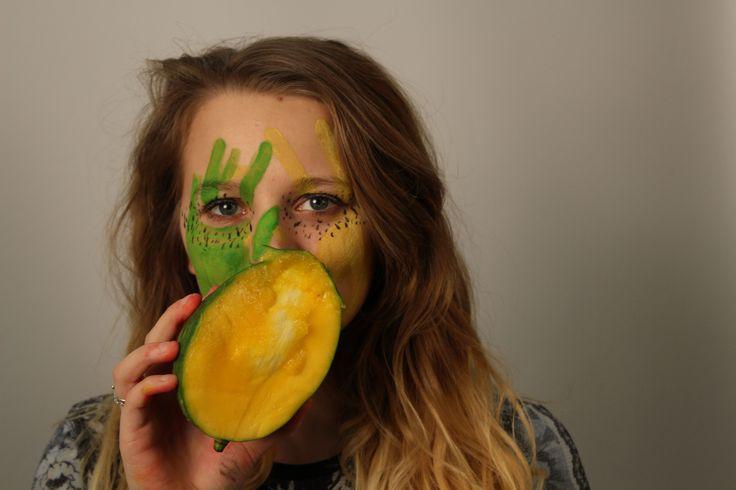 "Mango -  Original image by bkg. photography   Inspired by Cristina Otero's ""Tutti Frutti"""