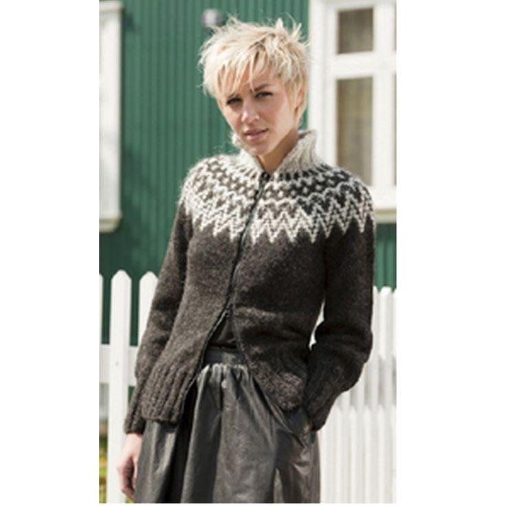 RANGA - traditionel islandsk sweater fra Istex - Køb garn og opskrifter fra Istex her