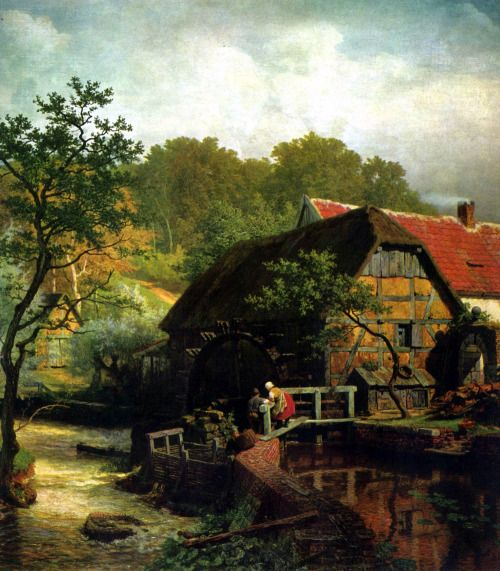 13 best andreas achenbach 1815-1910 images on Pinterest ...