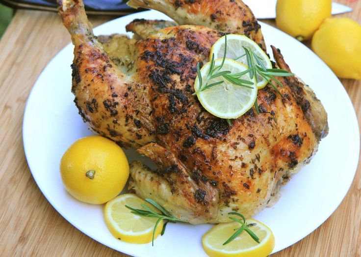lemon garlic rosemary roasted chicken recipe