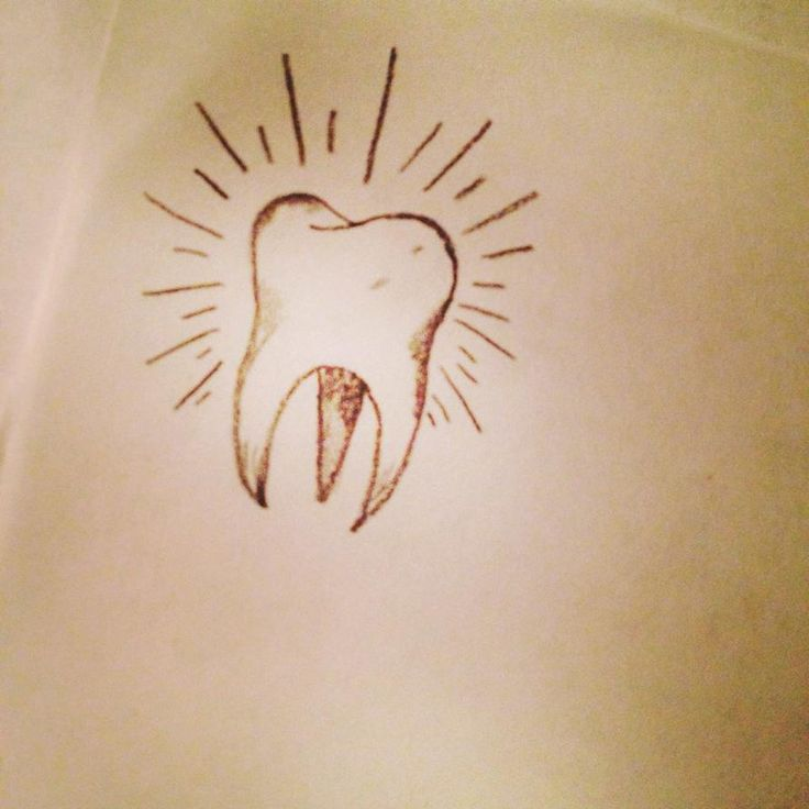 Tooth Tattoo! by AnjaAbsinthe