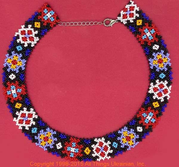 AllThingsUkrainian.com gherdany Bead Jewelry  # GIBN15127