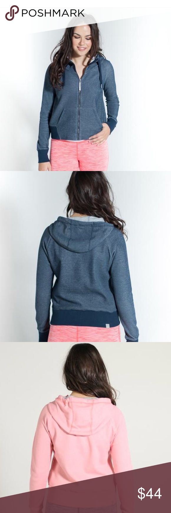 Bench Hoodie Cozy bench hoodie in pink and blue- Bench Sweaters