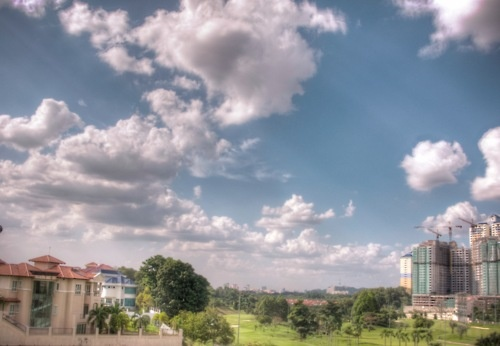 Trying out HDR