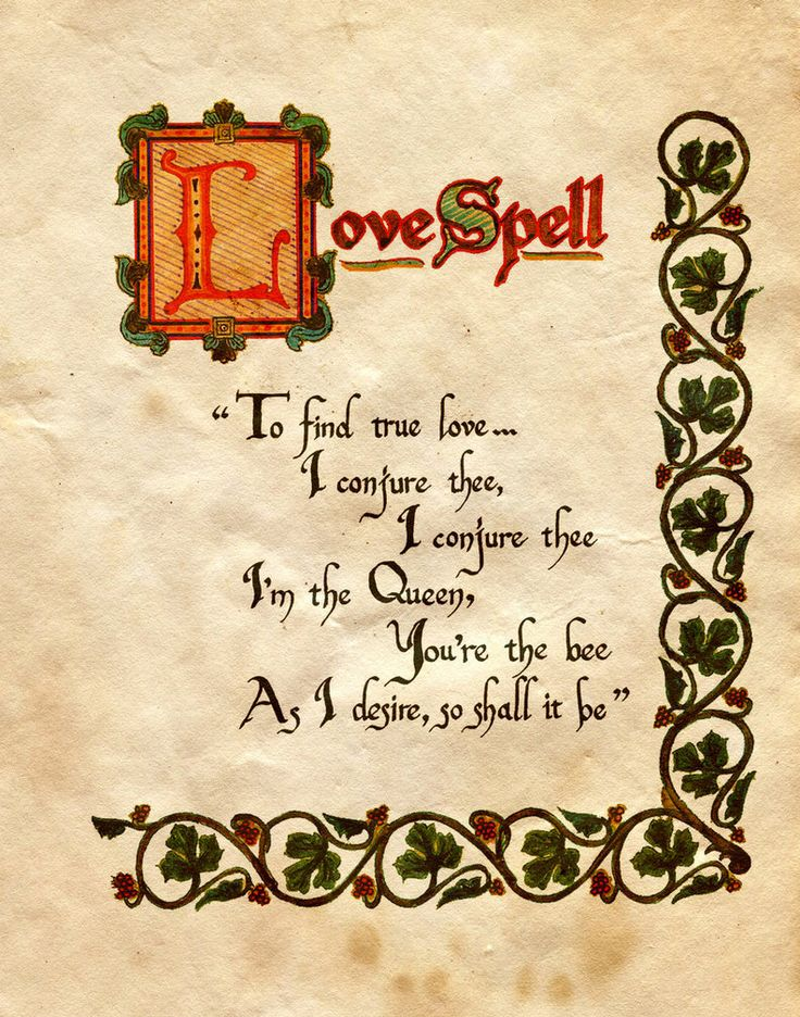 Charmed BoS Love Spell