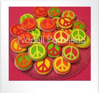 Cookie Simbolo de la paz
