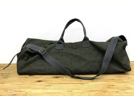 Yoga Bag Pilates Bag Gym Bag Vegan Bag Large Yoga Bag Overnight Bag Duffel Bag Travel Bag Unisex Duffle Weekend Bag Non Leather Bag Large Yoga Bag Yoga Bag Yoga Mat