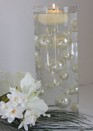 wedding centerpieces with water beads | Beads Including Clear Water Pearls Great For Wedding Centerpieces ...