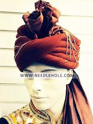 Pakistani #wedding #turban online #pre-tied silk turban in maroon colour http://www.needlehole.com/pakistani-wedding-turban-online-in-maroon-colour.html Pakistani wedding turban online silk turbans. Shop online latest #wedding turbans groom turbans online and wedding #pagri sehra at needlehole #turban shop for men