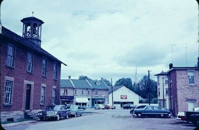 Old town Hall. Elora.1961 - https://www.facebook.com/photo.php?fbid=10152095859266792&set=gm.554728001320104&type=1&theater