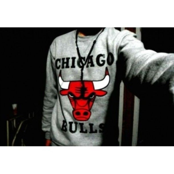 Sweater: clothes, chicago bulls - Wheretoget