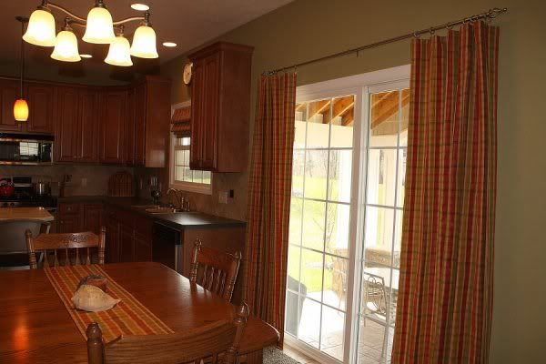 Kitchen photo this photo was uploaded by for Window treatments for sliding doors in kitchen