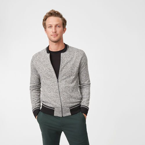 Club Monaco Marled Sweater Bomber