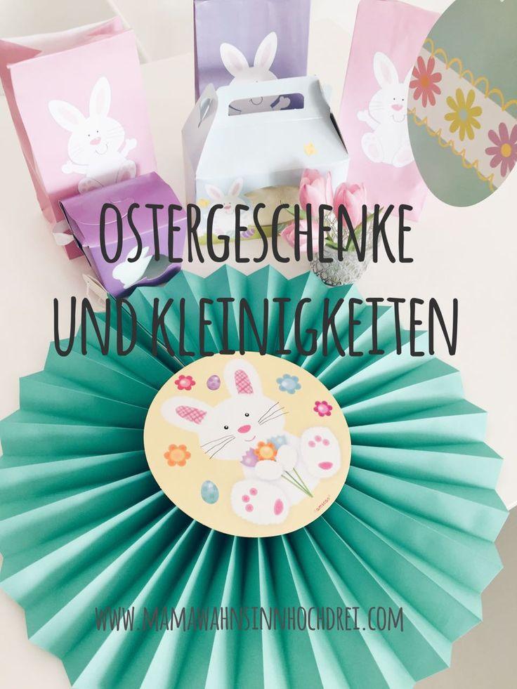 Ostergeschenke und Kleinigkeiten für Kinder. http://www.mamawahnsinnhochdrei.com/kleine-ostergeschenkt-oder-oster-kleinigkeiten/