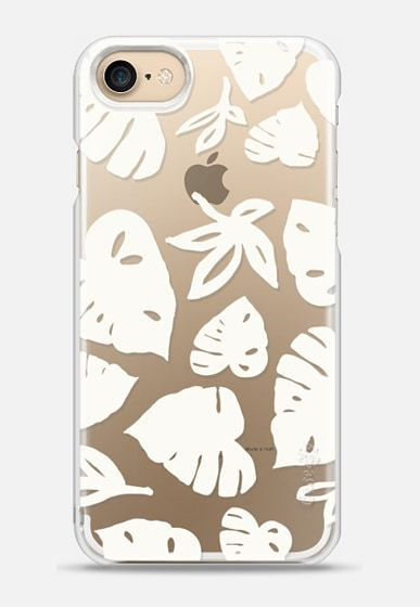 Monstera Off-White by Patricia Sodré for Casetify.  #iphonecase #monstera #casetify #patriciasodre