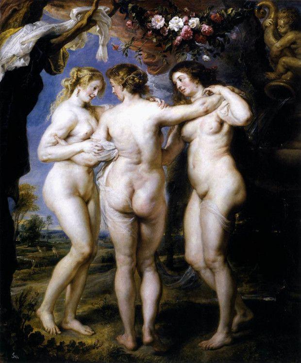 Peter Paul Rubens. Las tres gracias,