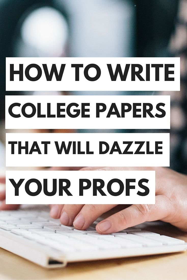 how to write a good college paper Writing good college essays involves a lot of work: you need dozens of hours to get just one personal statement properly polished, and that's before you even start to consider any supplemental essays.